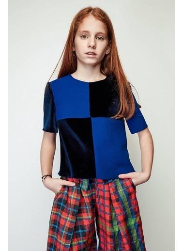 Lia Lea Kız Çocuk Mavi Bluz Mavi